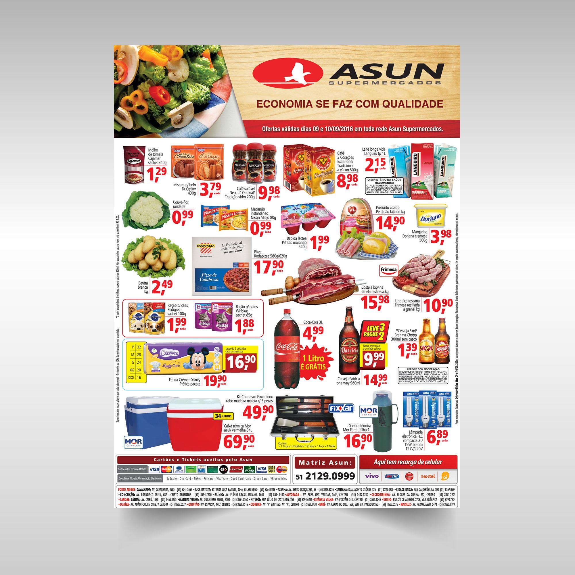 Anúncio Asun ofertas do mês
