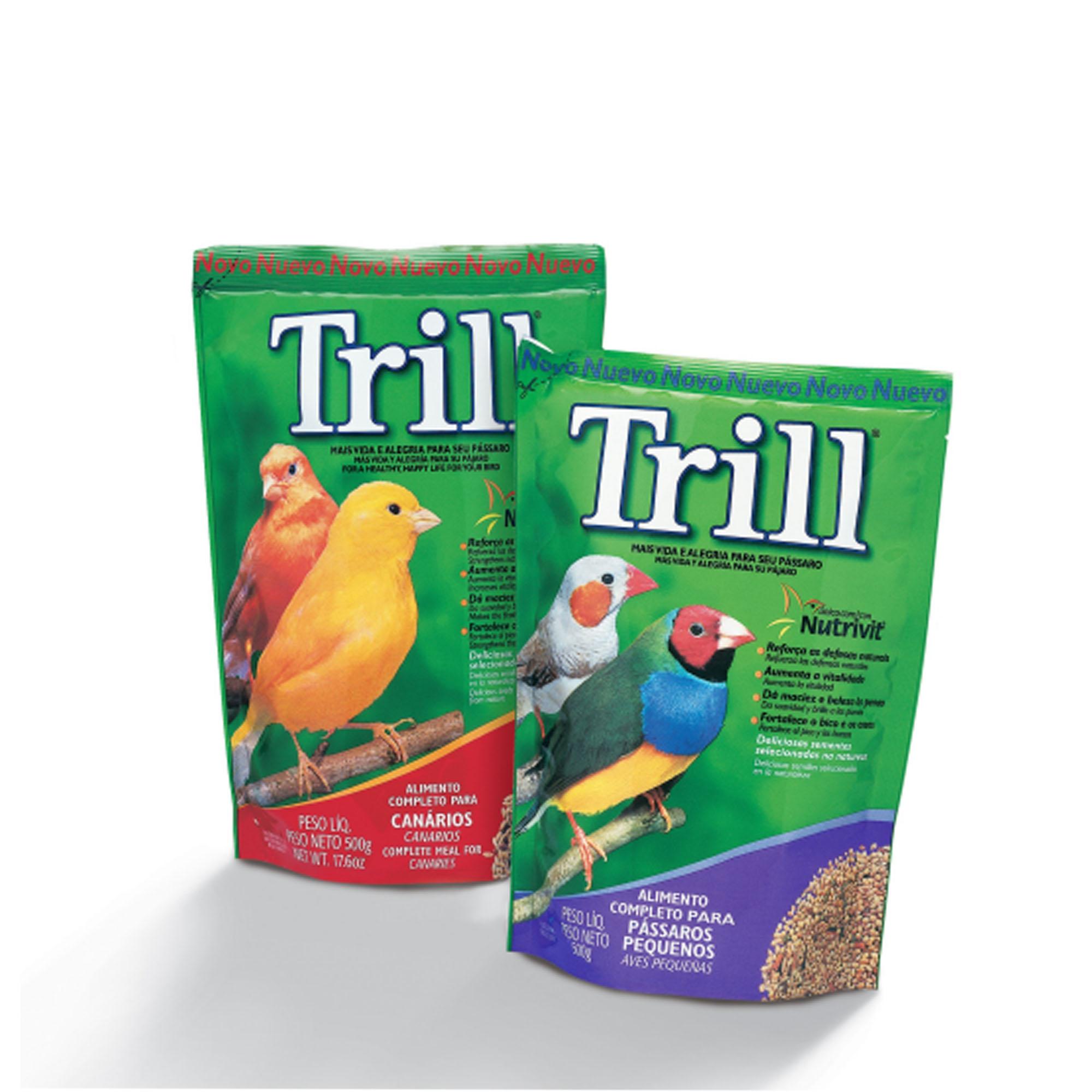 embalagem Trill