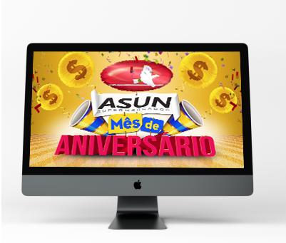 Comercial de aniversário Asun